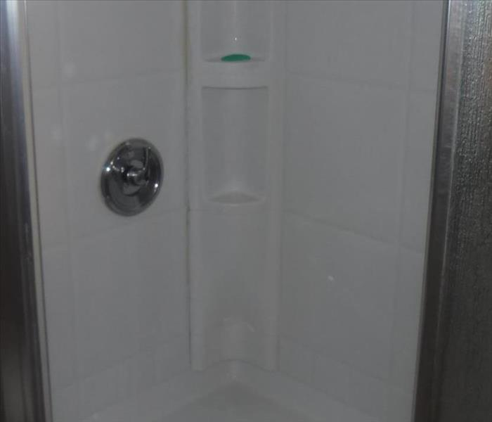 Mold / Rust Stained Shower After